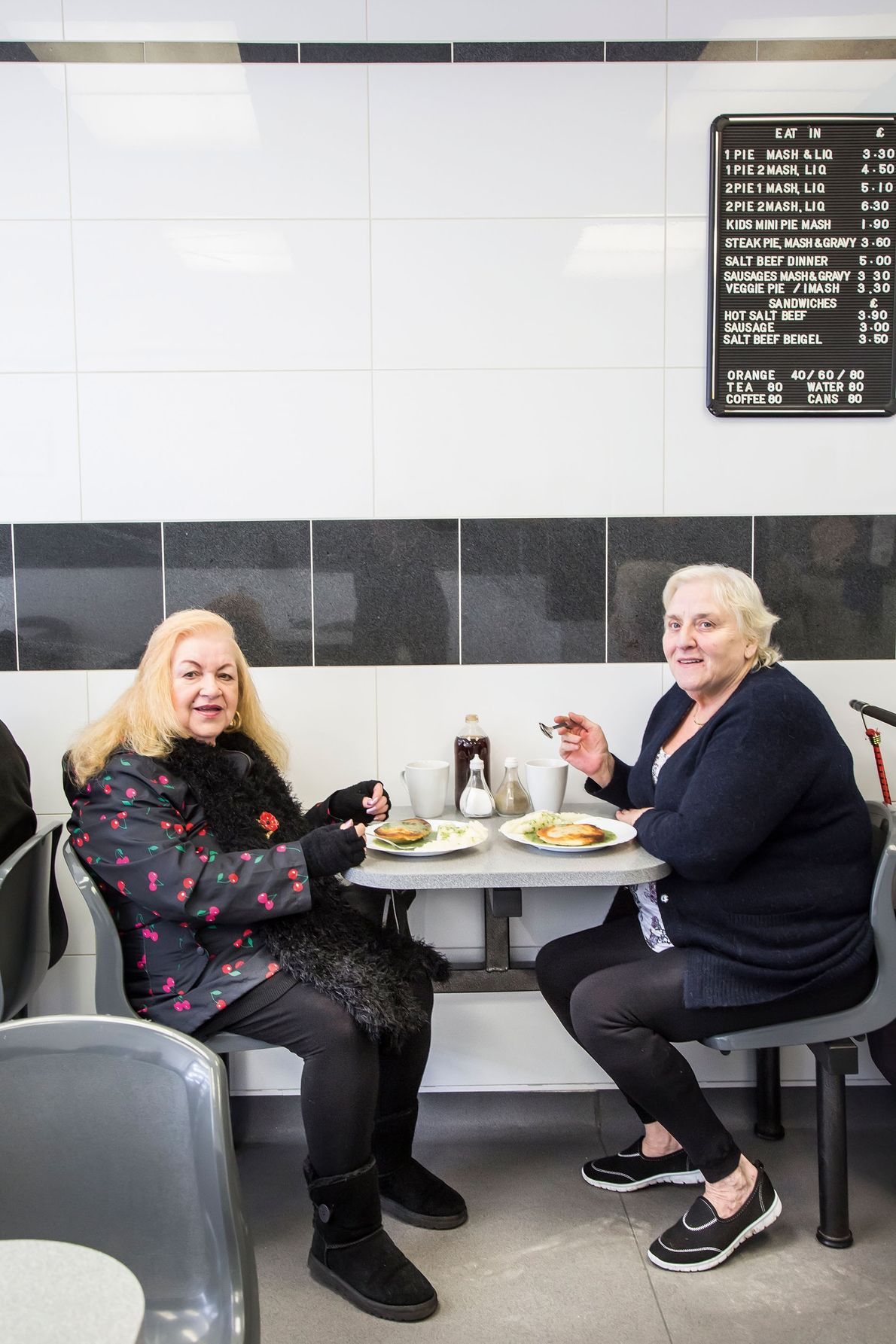 Maureen's in Poplar also offers veggie options and smaller pies