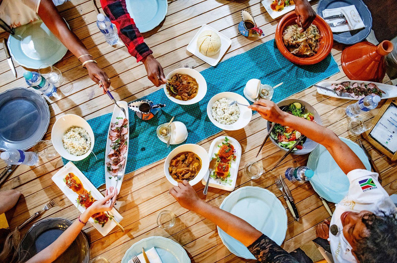 Communal feast