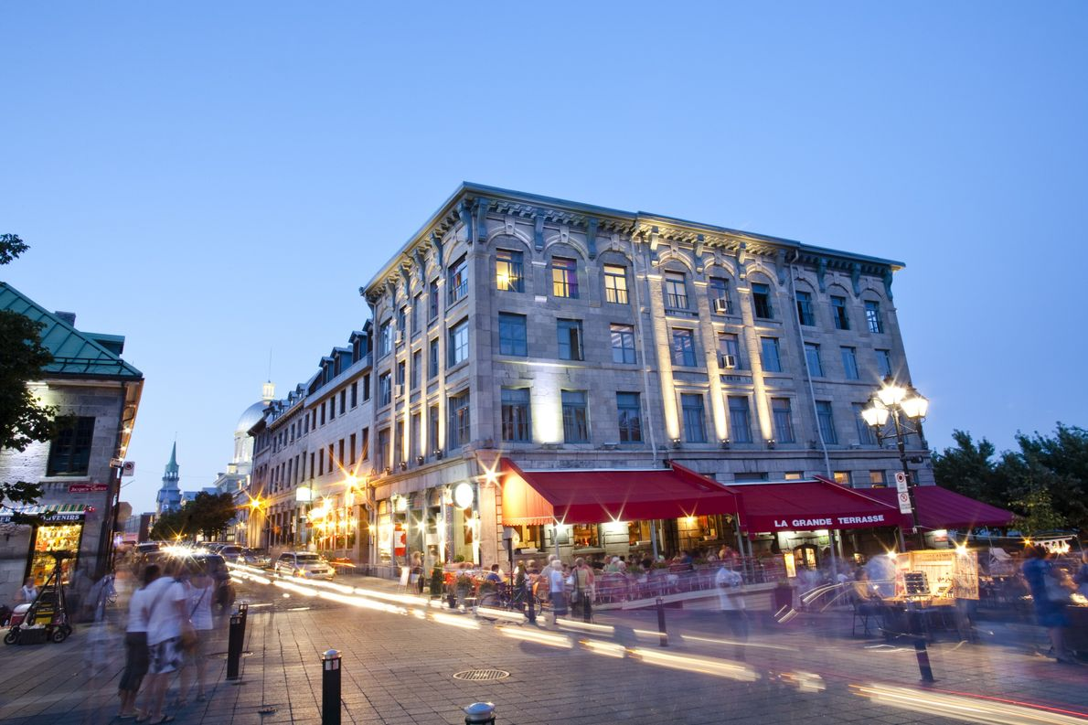 Place Jacques-Cartier in Old Montreal has been a center of the city's street life for more ...