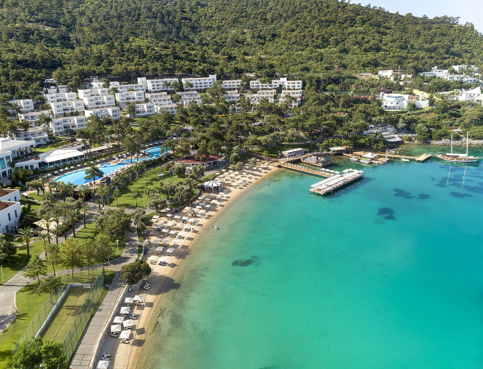 Rixos Premium Bodrum is ideally located on the Turkish Riviera, also known as the Turquoise Coast.