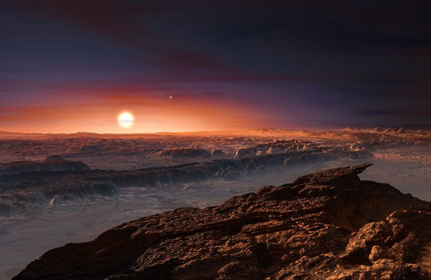 A new super-Earth may orbit the star next door