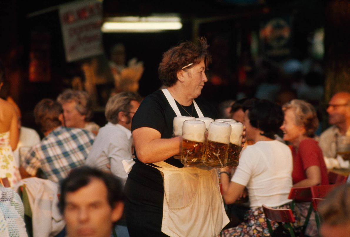 Celebrating Oktoberfest
