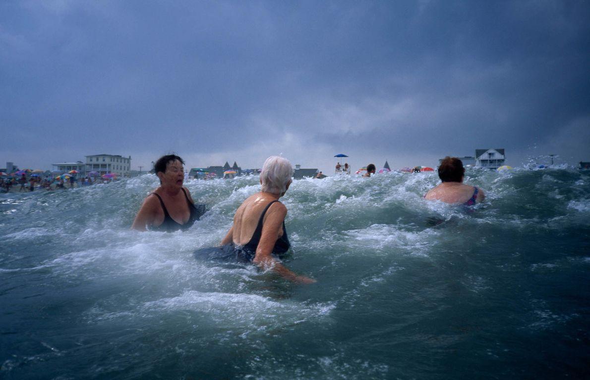 Stormy Swim