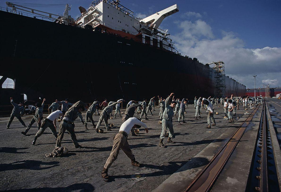 Supertanker Stretches