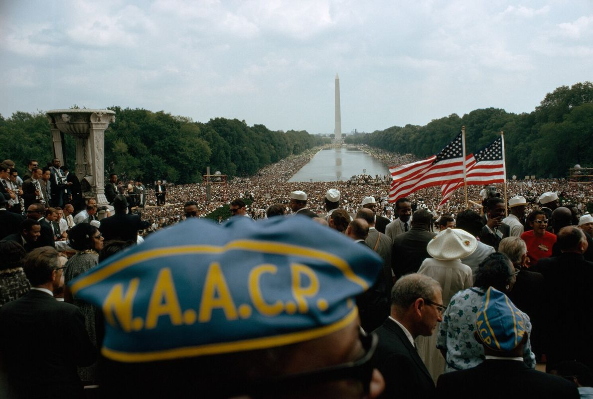 On August 28, 1963, some 250,000 people arrived at the National Mall for the March on ...