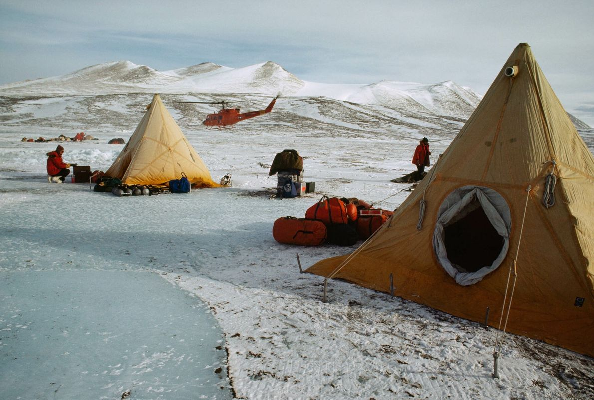 Tents on Ice