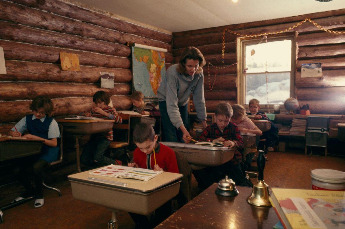 Alaskan Schoolhouse