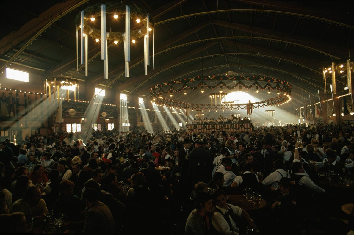 Oktoberfest Crowds