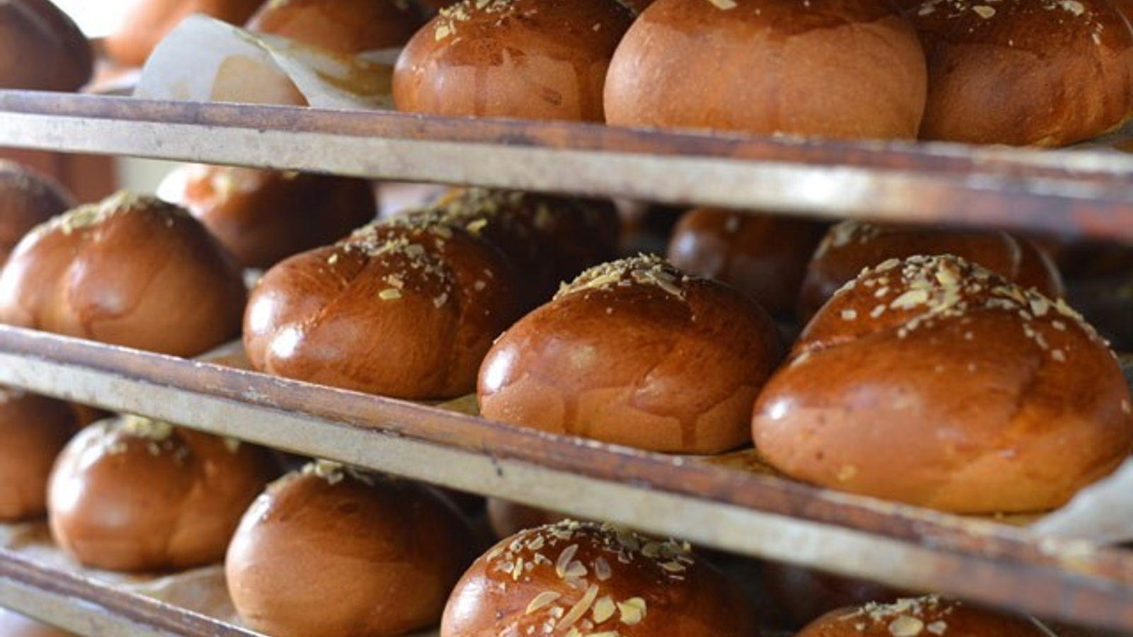 Freshly baked pastries, George Bairamis