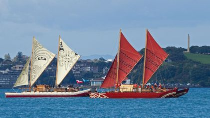 Polynesian Sailing Vessels Are Being Used to Clean Up Microplastics