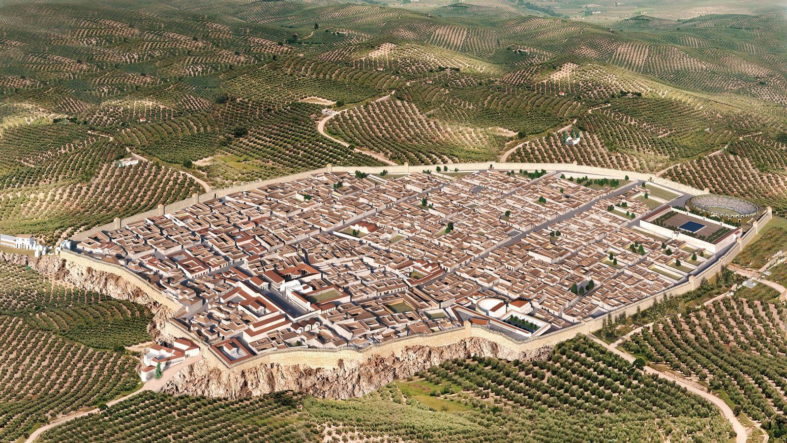 The excavation of Region V, wedged between Via del Vesuvio and Via di Nola and covering ...