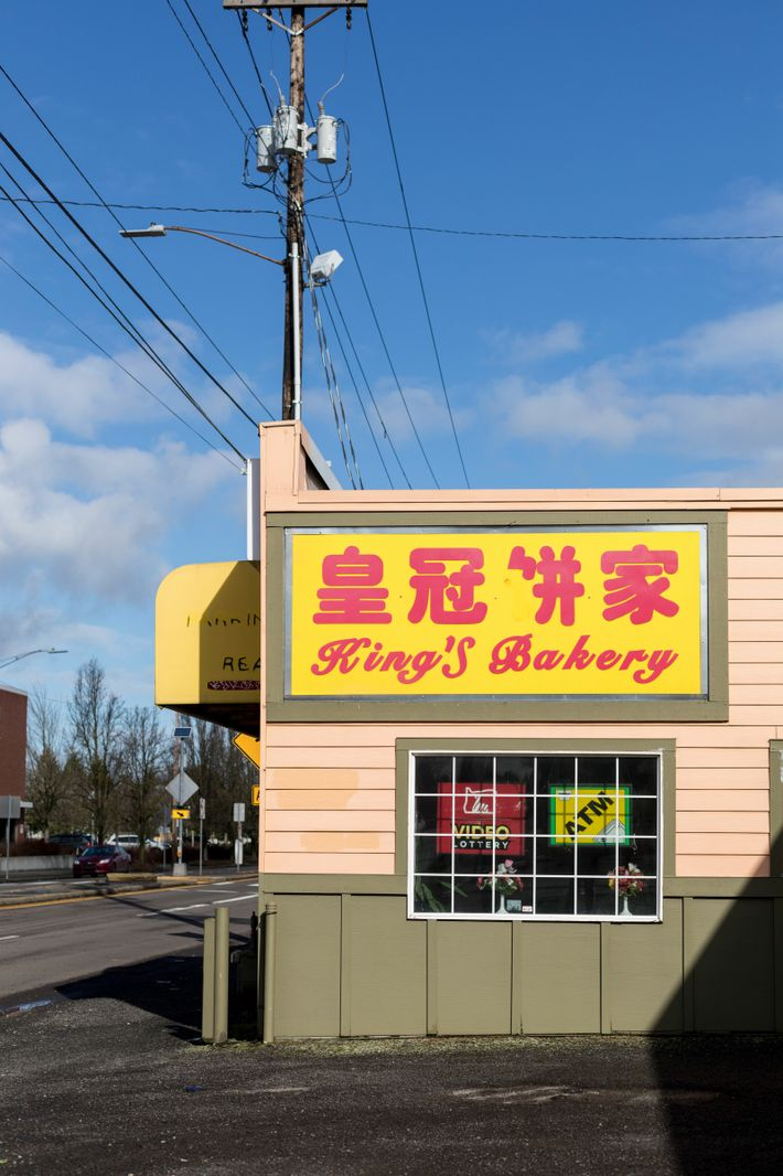 King's Bakery brims with baked Chinese goods.