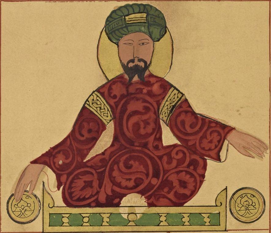 A portrait of the Muslim leader Saladin –also known as Ṣalāḥ al-Dīn Yūsuf ibn Ayyūb – ...