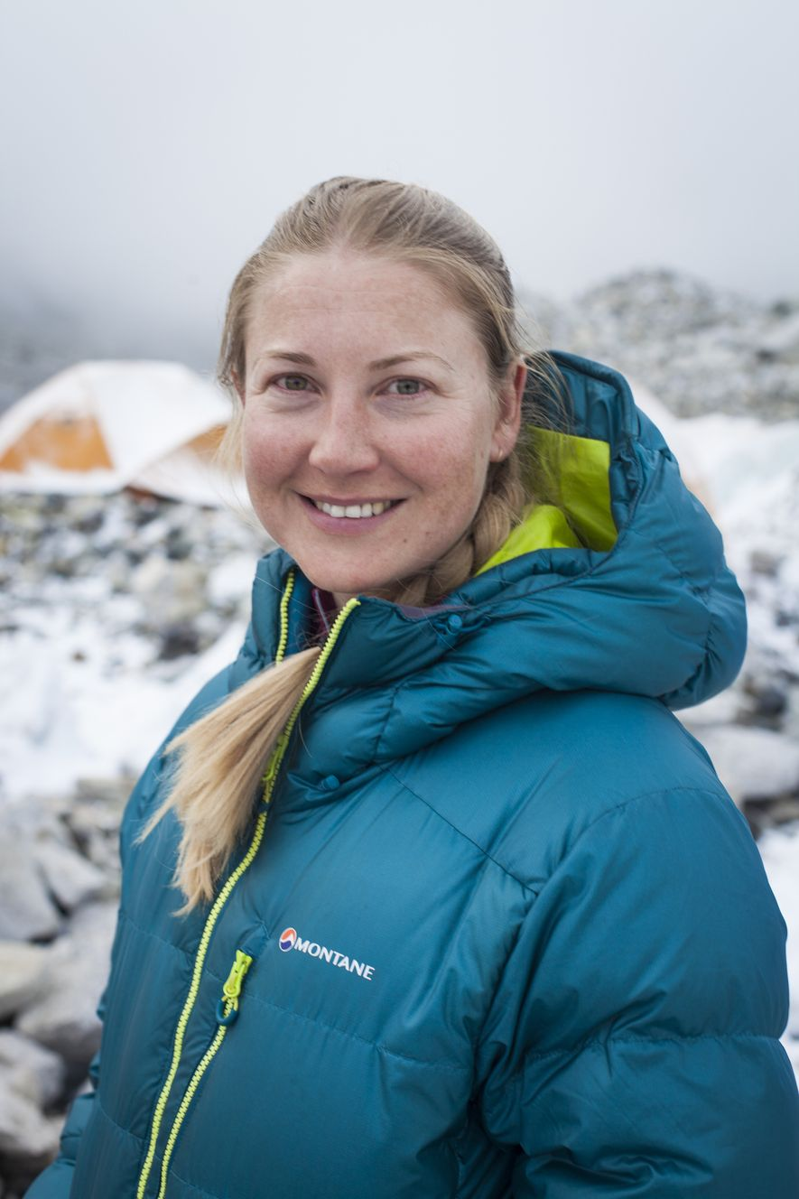 """""""Don't be put off by fears that you're not good enough; you don't have to be the best.I am not the best physicist or the best climber, but that doesn't mean I can't contribute something."""" Melanie Windridge on Everest, 2018."""