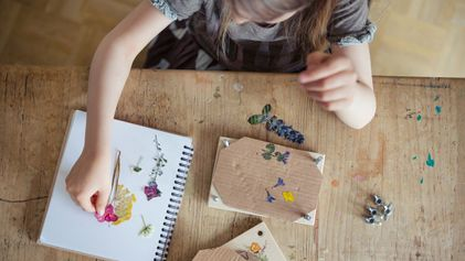 Flower power: Combining science and art to get kids exploring
