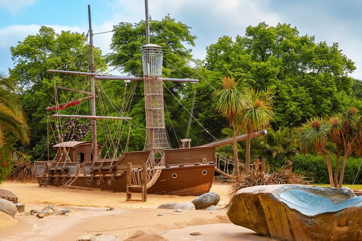 Set sail on a pirate ship inspired by Peter Pan in London.