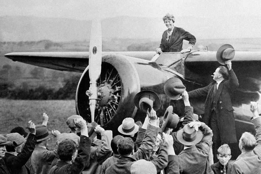 Excerpt: How Amelia Earhart navigated the skies and society