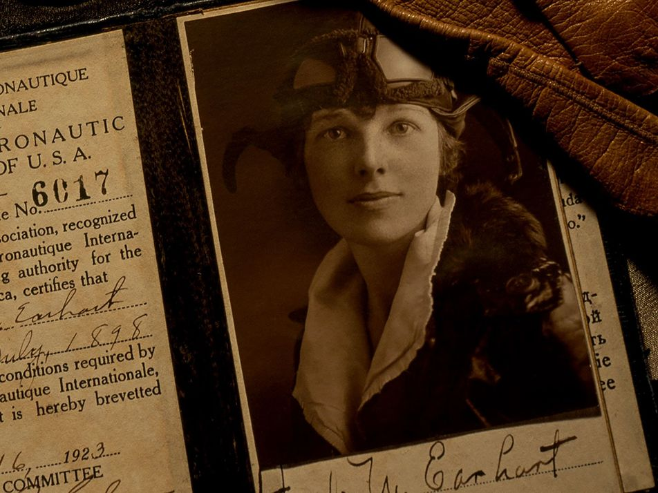 Why does Amelia Earhart still fascinate us?