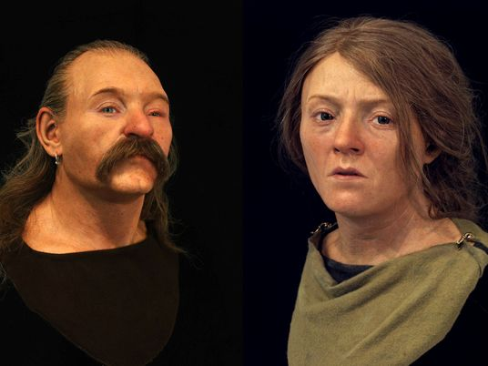 Look Familiar To You? These Facial Reconstructions Reveal 40,000 Years of English Ancestry