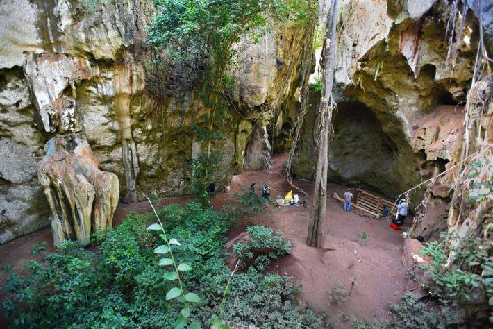 Cave site