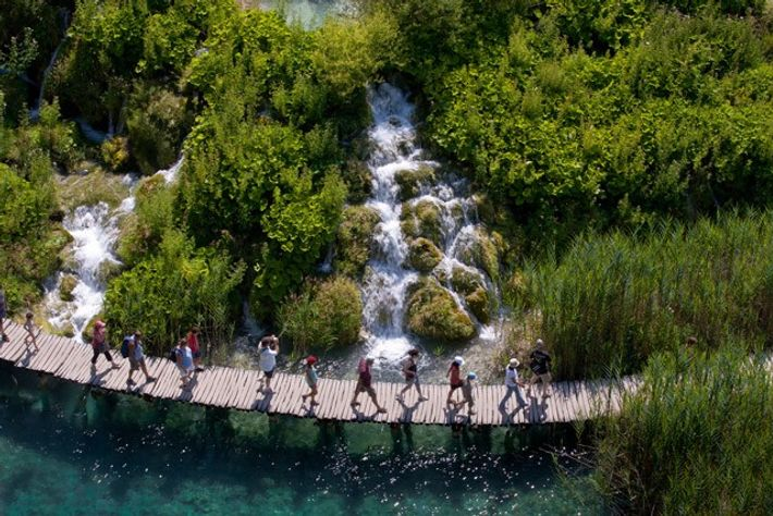 Croatia, Plitvice lakes National Park. Image: Getty