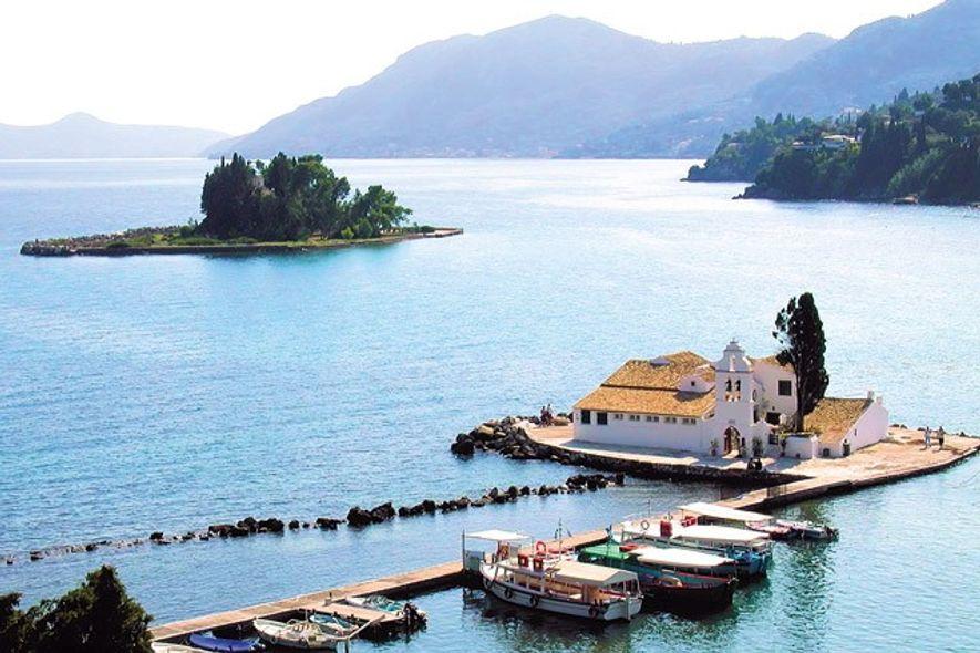 Pontikonissi, Corfu. Image: Getty