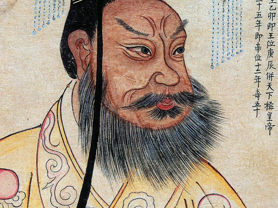 Who was the Chinese emperor behind the terracotta warriors?