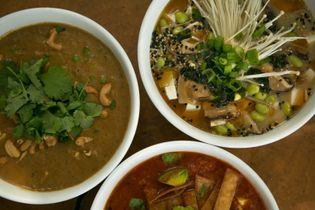 Soup and Cie is a soup-lover's paradise, serving soups from all over the world.