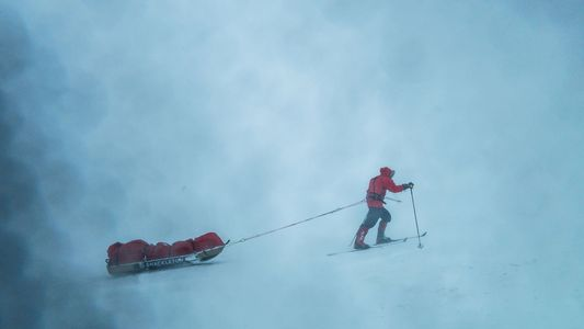 British Antarctic Explorer Enters No-Rescue Zone