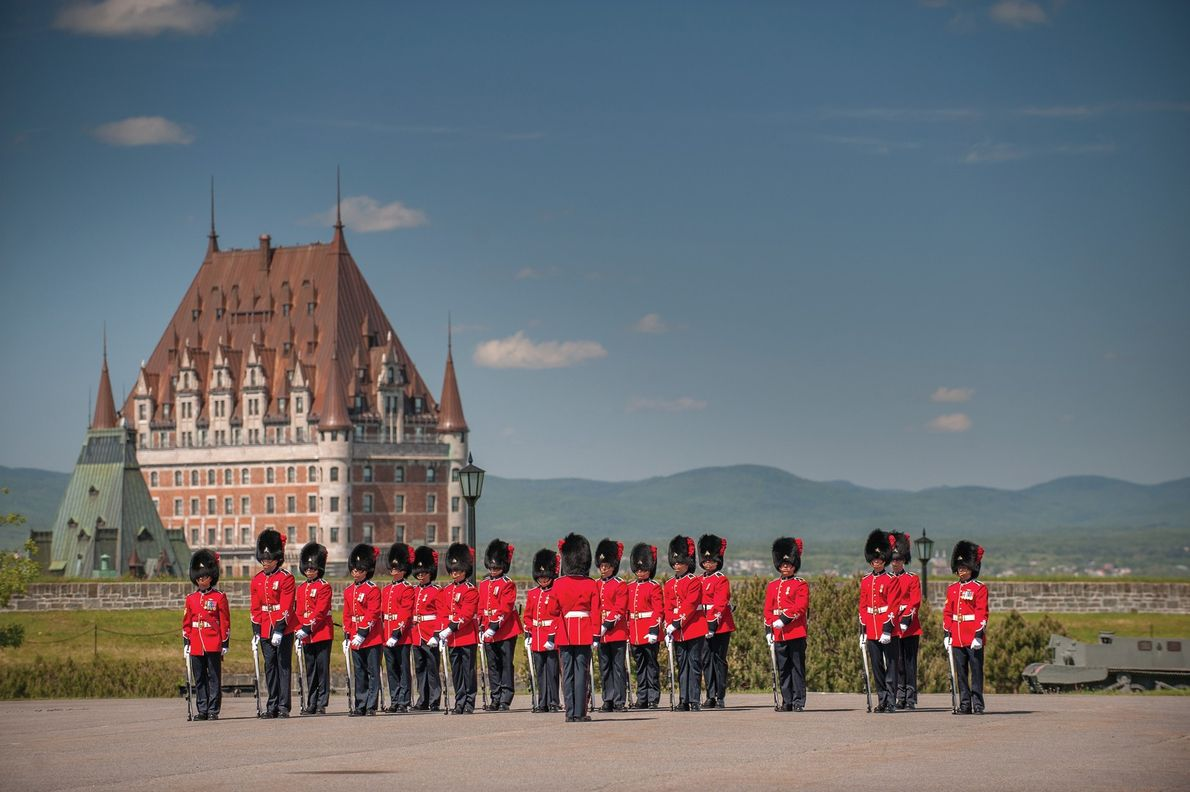 Changing of the guard ceremony.
