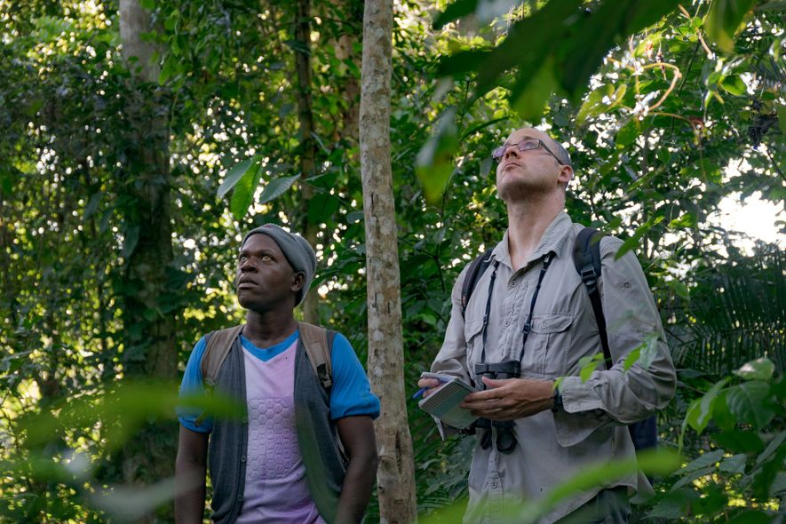 Matt McLennan (at right) came to western Uganda in 2006, originally for doctoral research, to study ...