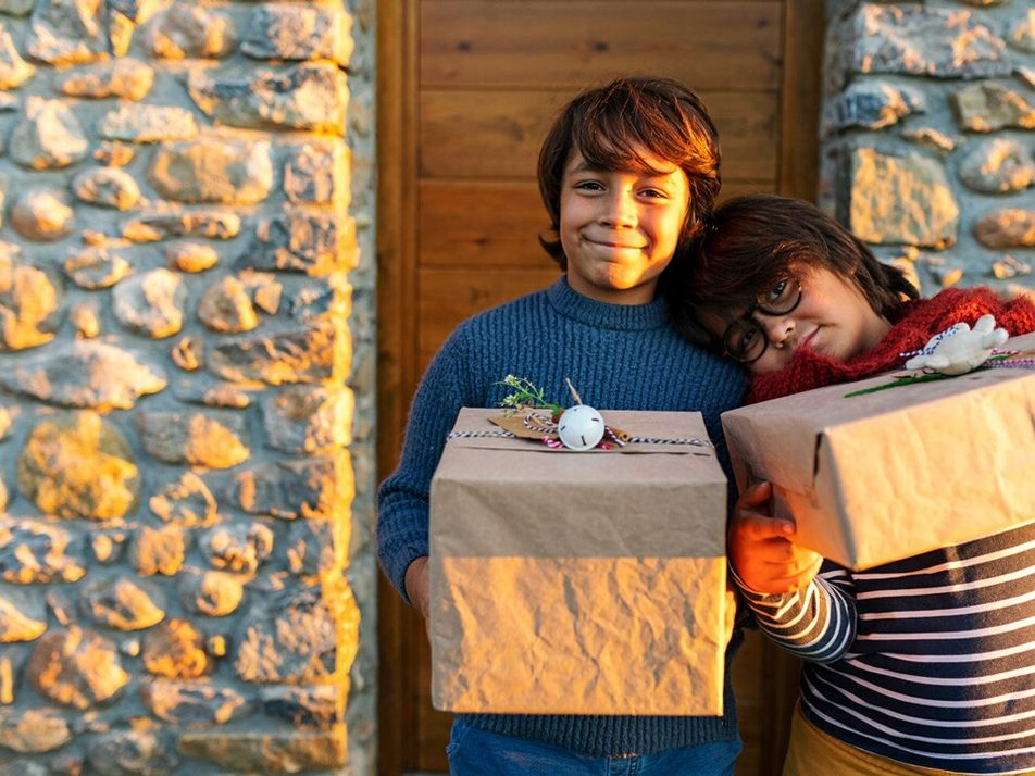The pandemic might be changing the way kids give gifts.