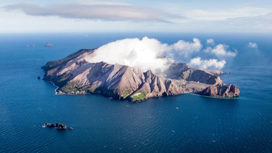 White Island/Whakaari in 2016. The island has long been a lure for both scientists and tourists. ...