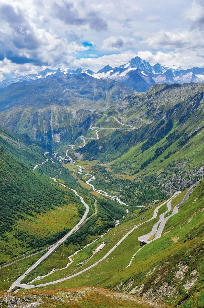 Originating from a glacier near Switzerland's Furka Pass, the Rhône River runs to the Mediterranean. It ...