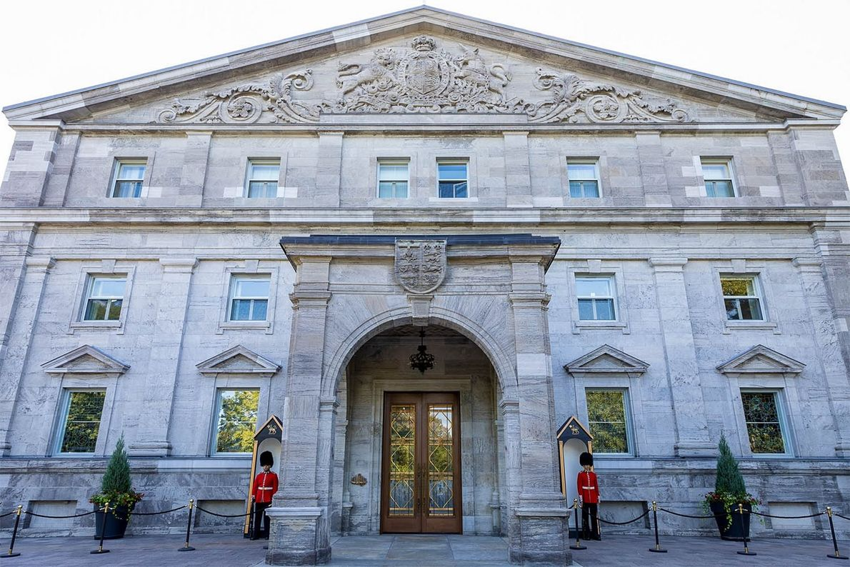 Rideau Hall is a national historic site and the official residence of every governor general since ...