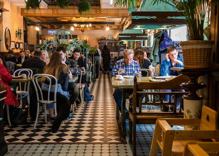Lido Vermanitis is a Riga institution, known for its cheesy country hut-style decor.