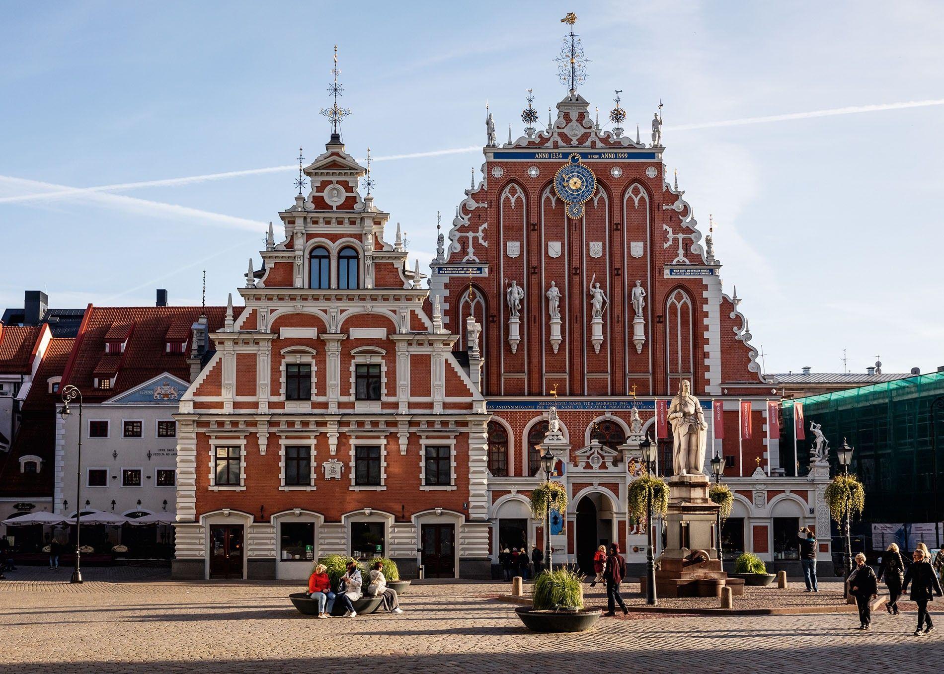 House of the Blackheads, Riga.