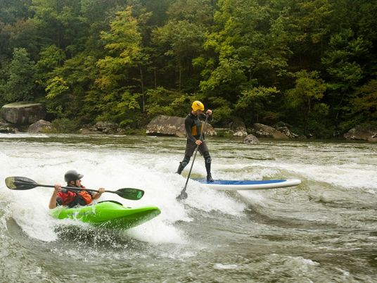 River Surfing is Taking on Its Saltwater Sister