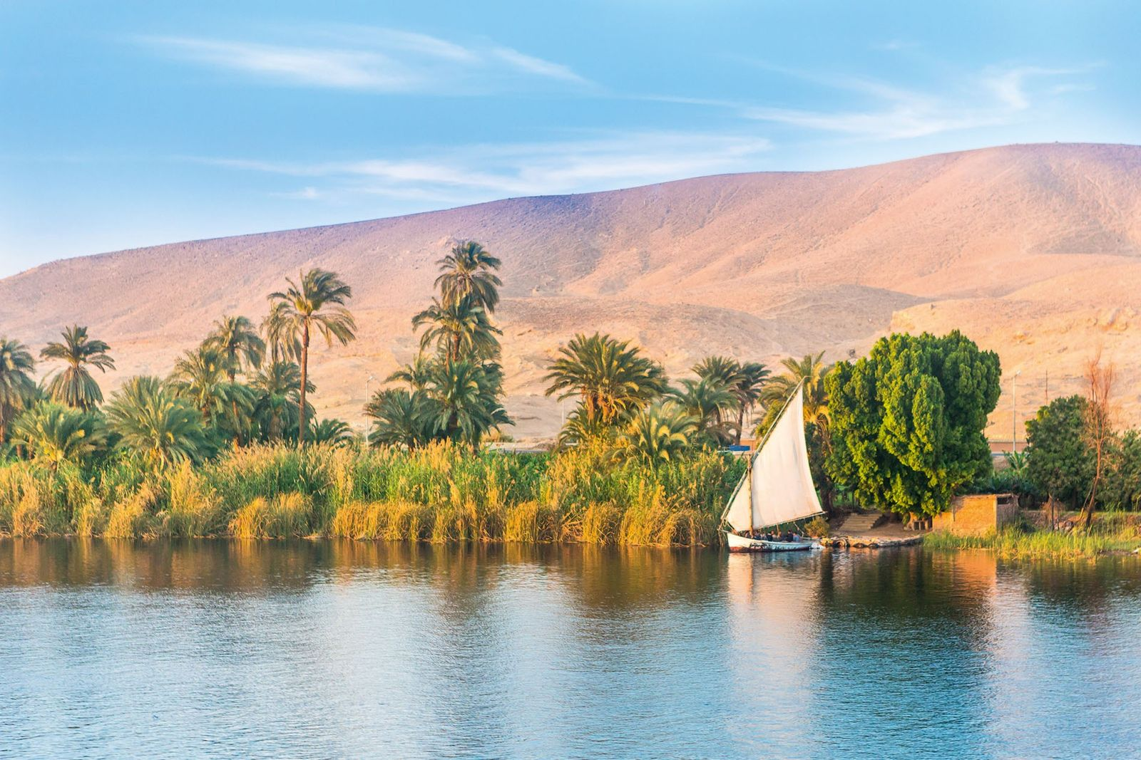 Following relaxed travel regulations, Egypt is back on travellers' itineraries and a trip along the fabled ...
