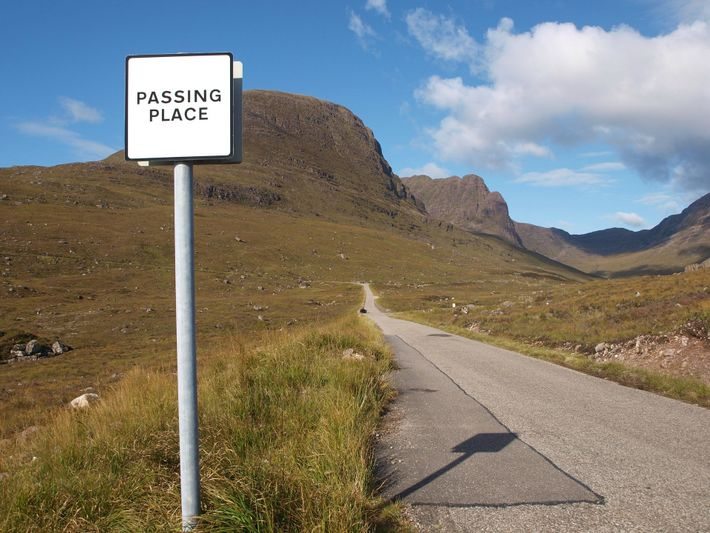 Bealach na ba is Gaelic for Pass of the Cattle, and this single track road used ...