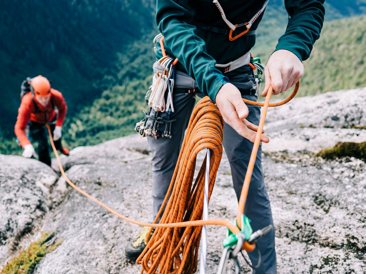 ROCK CLIMBING  The feeling of cold, smooth granite on your fingertips. The rush of adrenalin as you ...