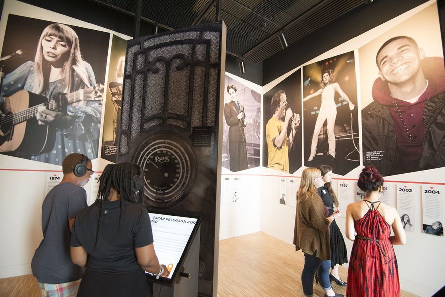 The National Music Centre includes a music-related museum collection and a performance centre.
