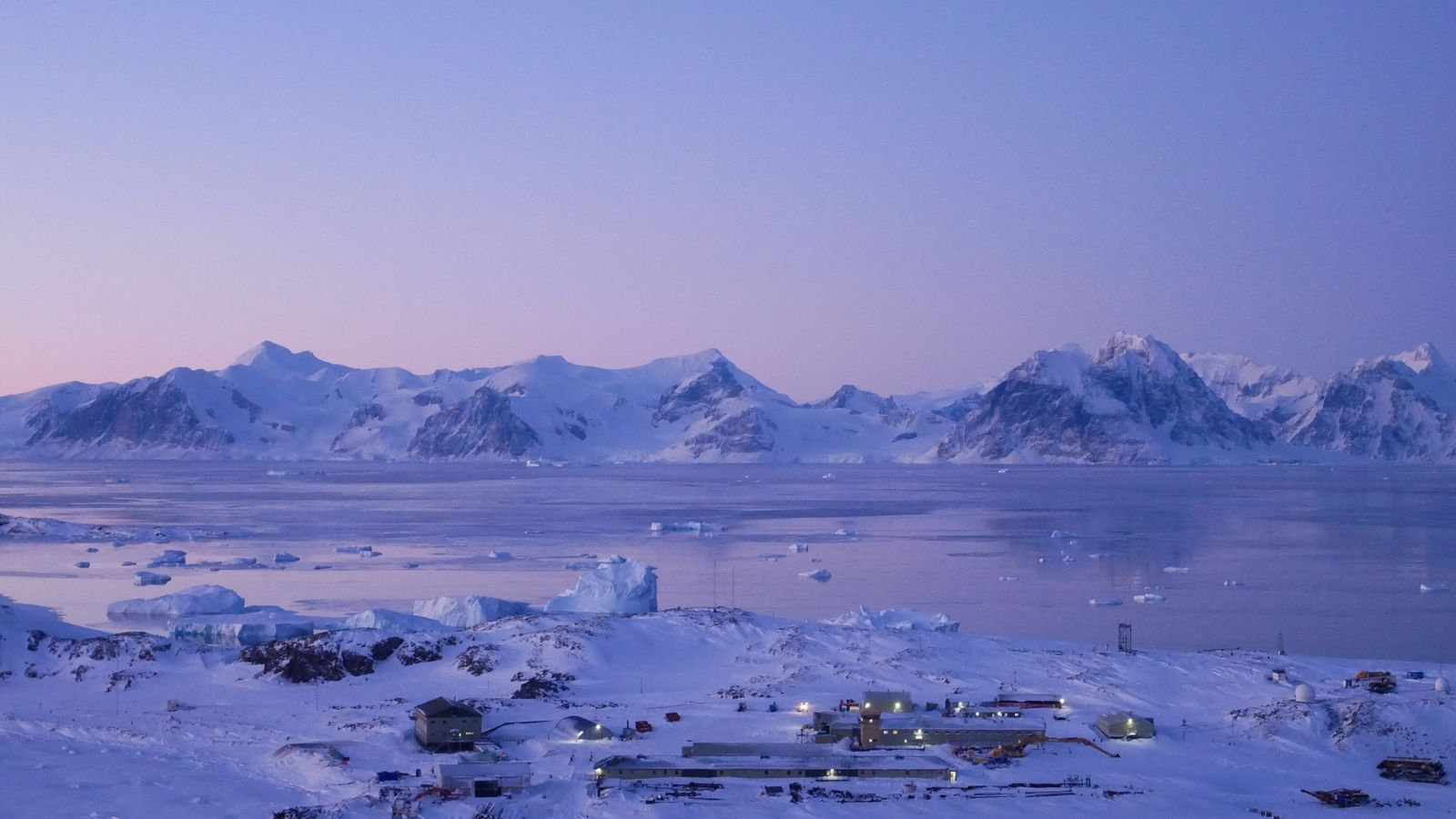 Rothera Research Station in June. Antarctica only has two seasons, with summer – which lasts from October ...