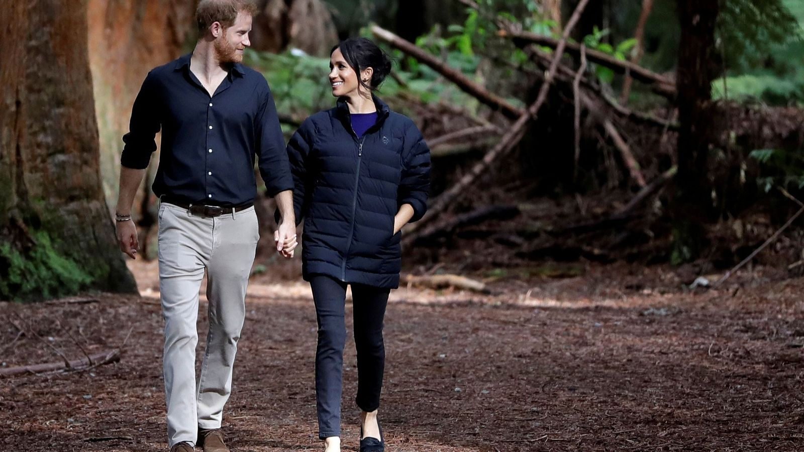 Prince Harry and Meghan have announced they will pull back from royal duties and split their ...