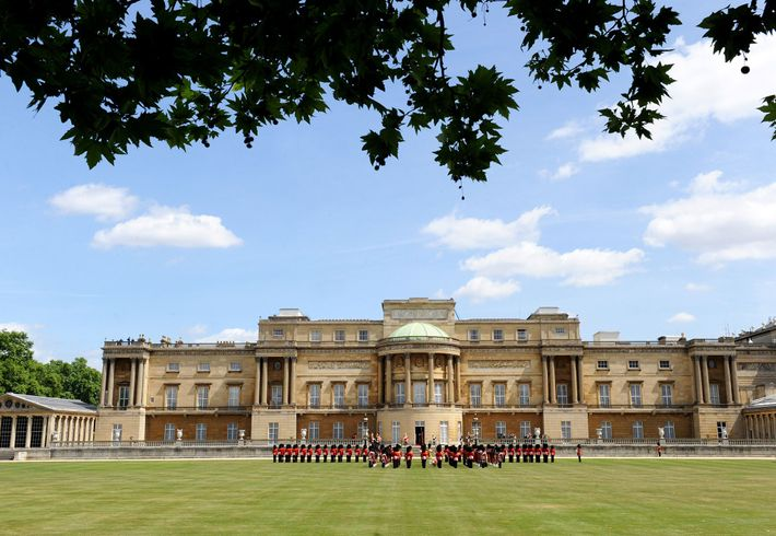 Buckingham Palace is the primary residence of the British monarch, and functions both as administrative headquarters ...