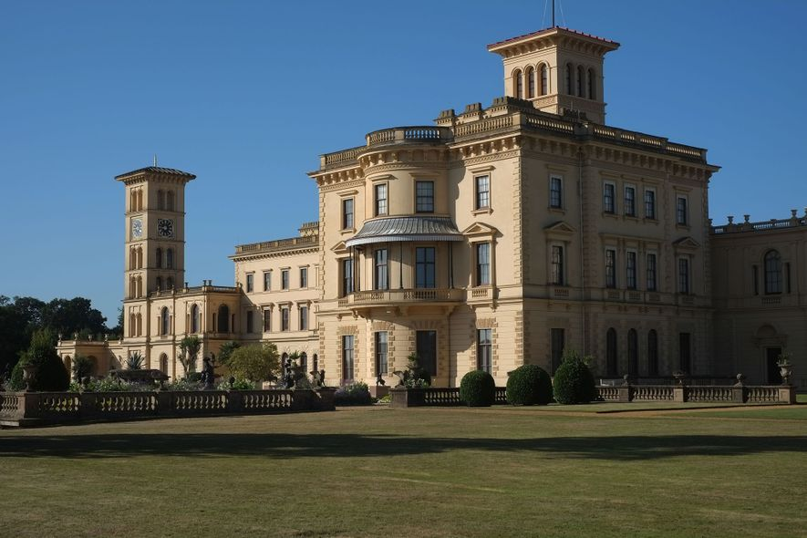 Built between 1845 and 1851, Osborne House was the favorite retreat of Queen Victoria and her ...