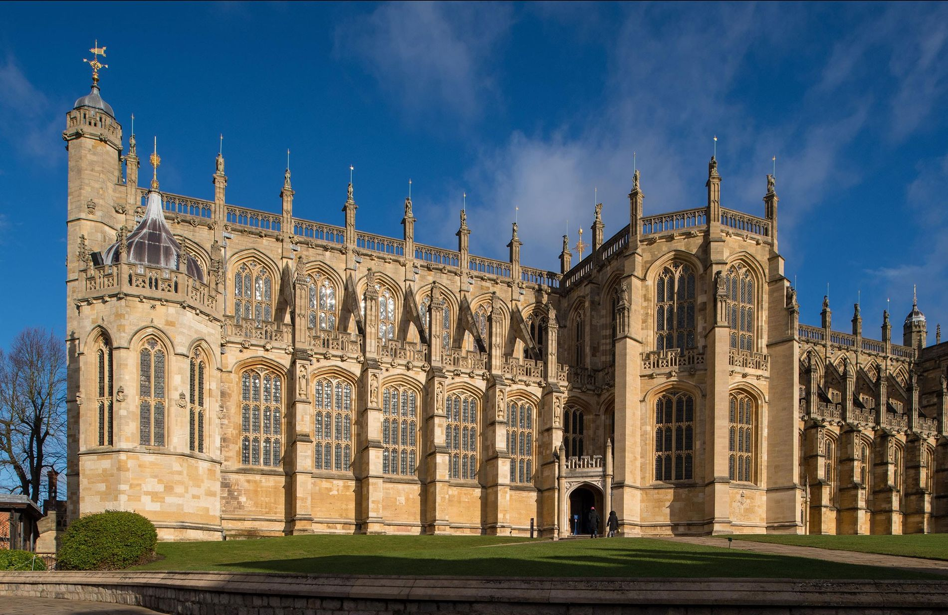Prince Harry and Meghan Markle were married in St. George's Chapel at Windsor Castle on May ...