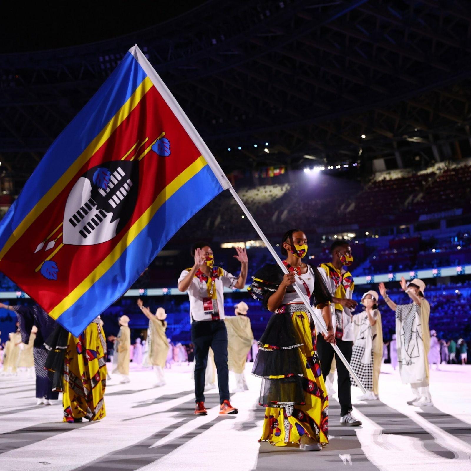 Tokyo 2020 Olympics - The Tokyo 2020 Olympics Opening Ceremony