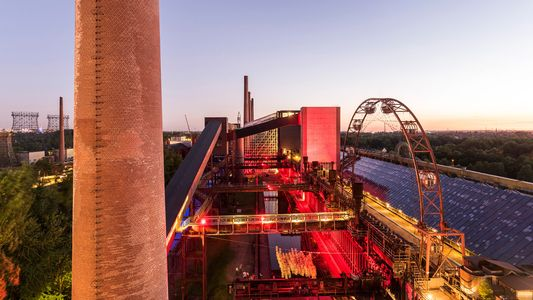 In Germany, industrial sites are now artful enclaves