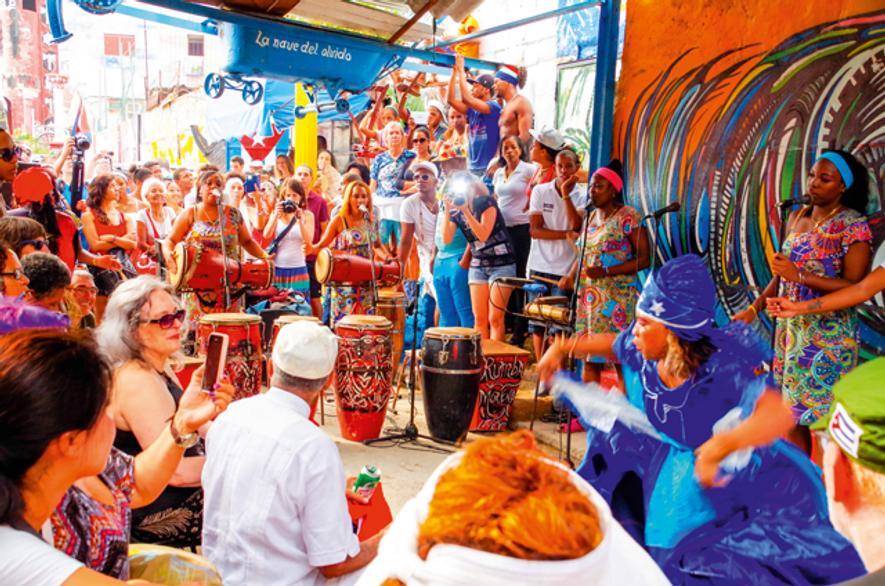 Rumba in Cuba